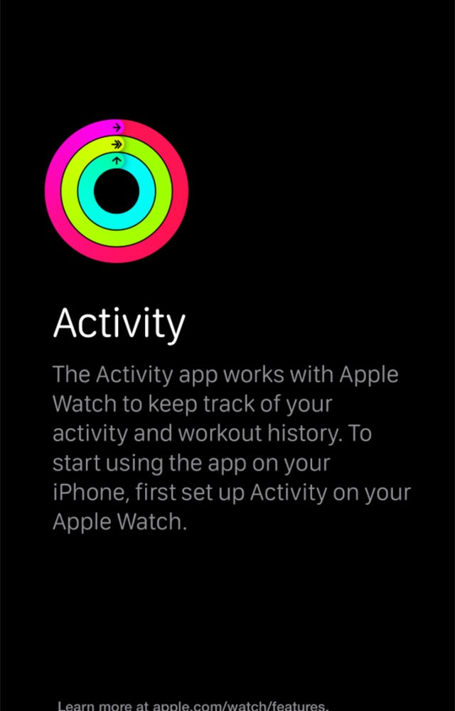 Application Activité : capture 2