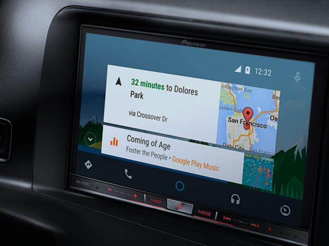 l 39 application android auto est sur le google play store. Black Bedroom Furniture Sets. Home Design Ideas