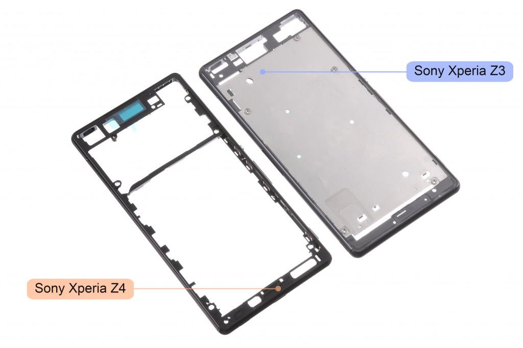Sony Xperia Z4 : les photos d'un châssis en balade
