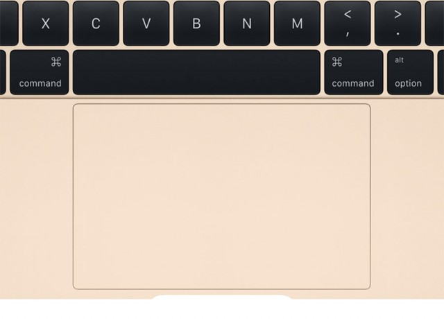 Clavier Apple Force Touch