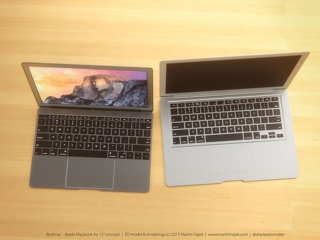 MacBook Air Furtif Concept