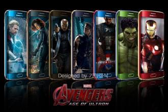 Galaxy S6 Edge Avengers : image 1