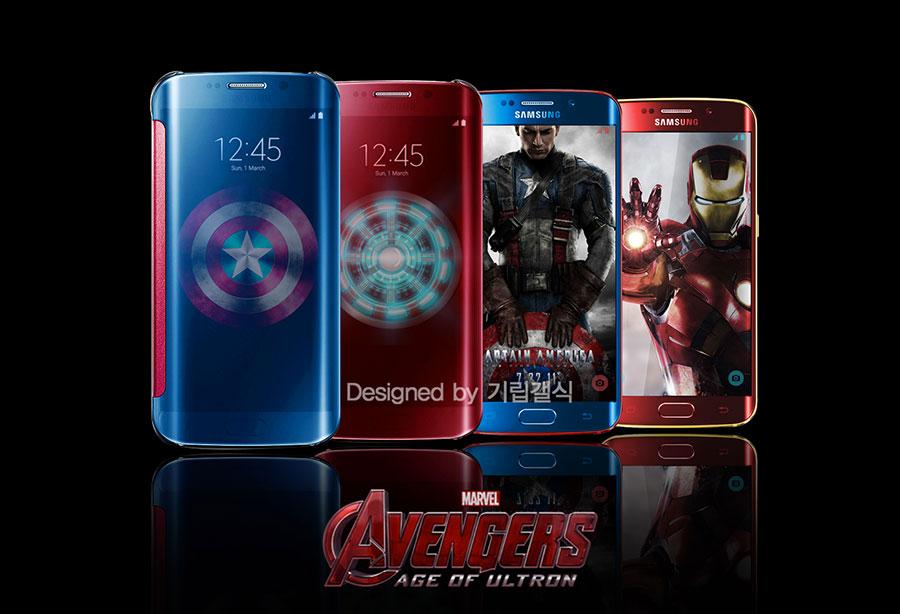 Galaxy S6 Edge Avengers : image 9