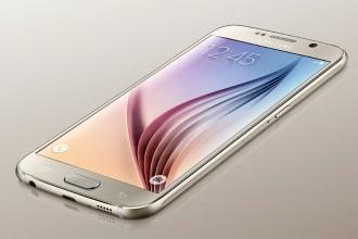 Samsung Galaxy S6 marron : image 1