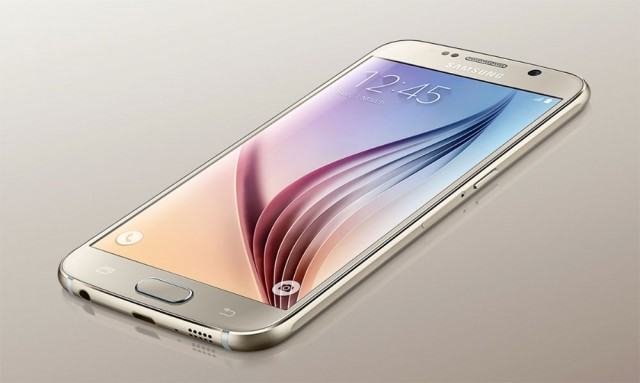 Samsung galaxy s6 couleur or