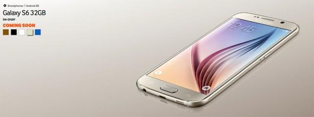 Samsung Galaxy S6 marron : image 2