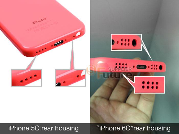 iPhone 6c : des photos de sa coque ?