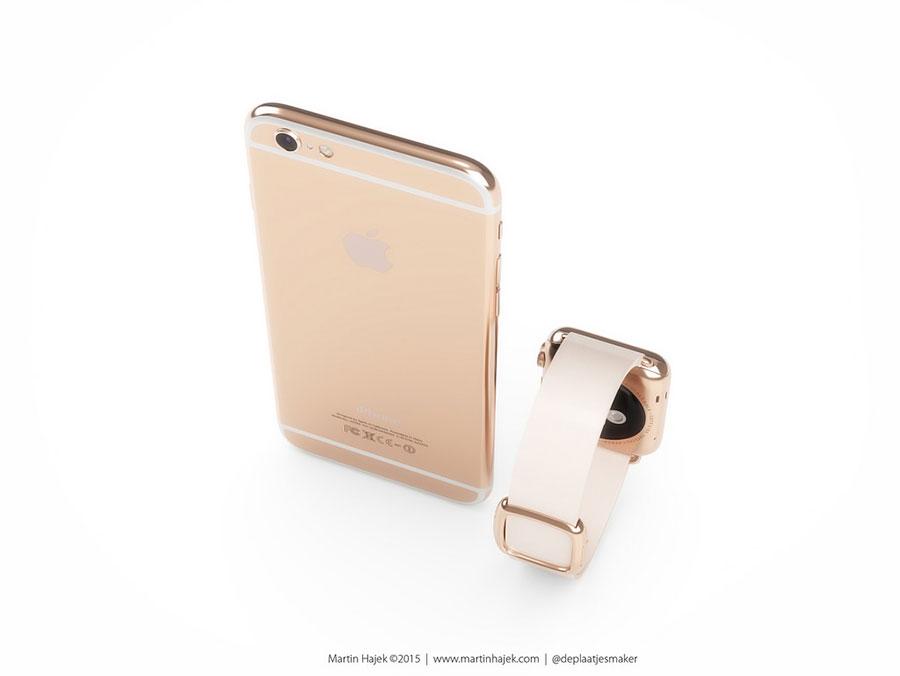 iPhone 6s rose : image 4