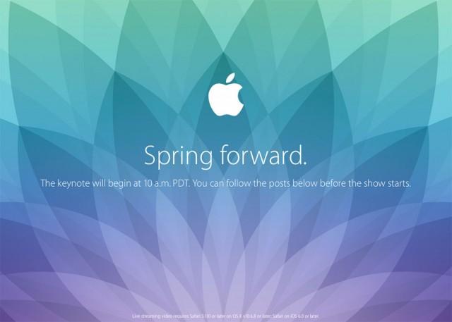 Keynote Apple Watch mars 2015