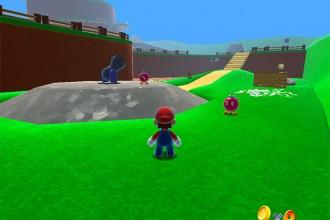 Super Mario 64 navigateur web