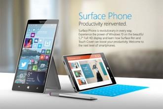 Surface Phone : rendu 1