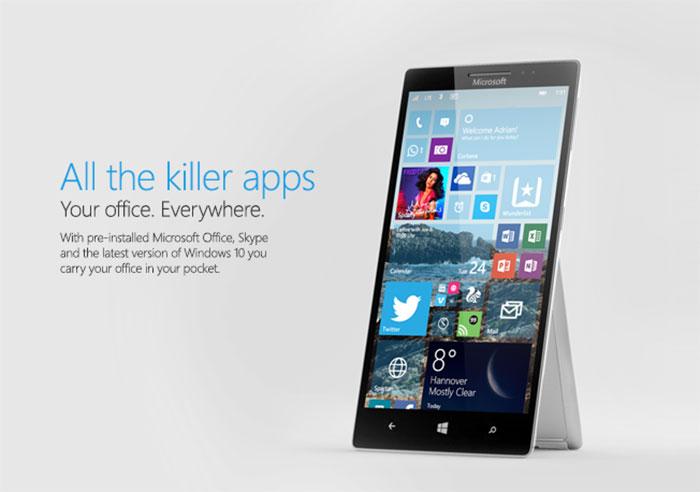 Surface Phone : rendu 2
