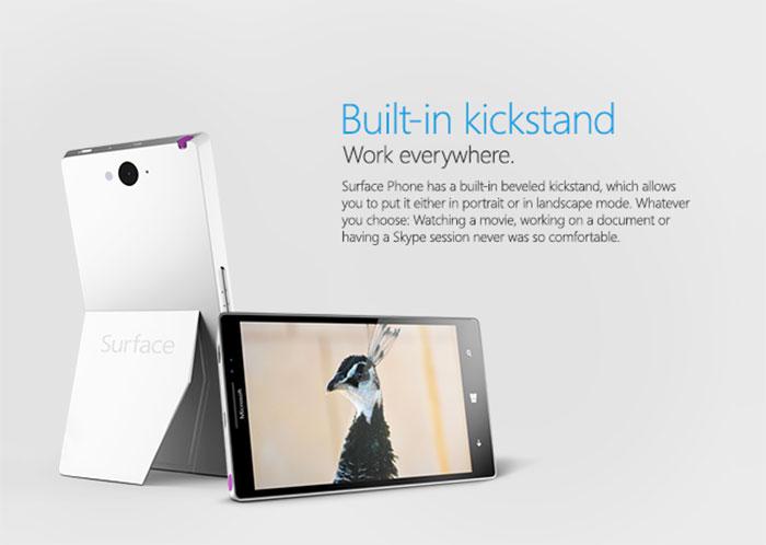 Surface Phone : rendu 3
