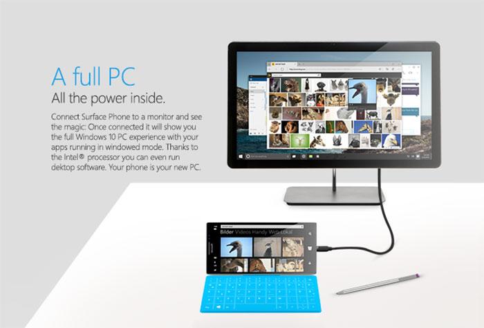 Surface Phone : rendu 5