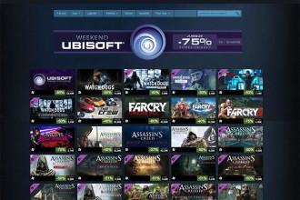 Soldes Steam Ubisoft