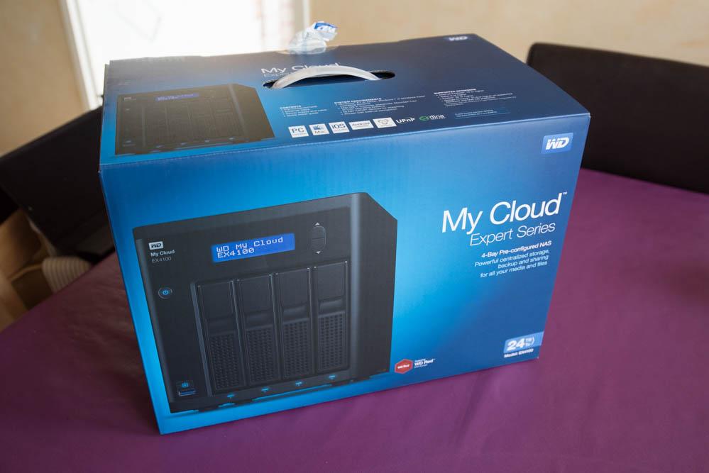 WD MyCloud EX4100 : photo 1