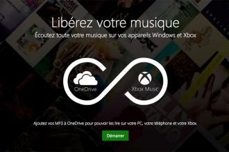 Xbox Music + OneDrive