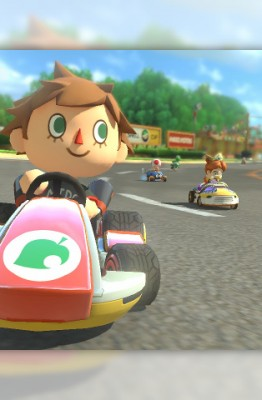 Animaml Crossing dans Mario Kart 8