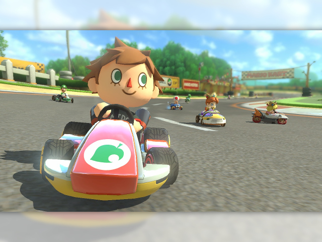 Animaml Crossing dans Mario Kart 8