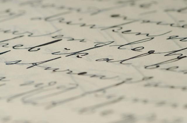 Ecriture Manuscrite