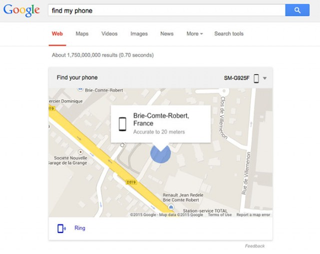 Capture Find My Phone Google Search