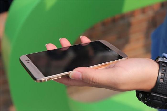 HTC One M9 Plus : photo officielle 2