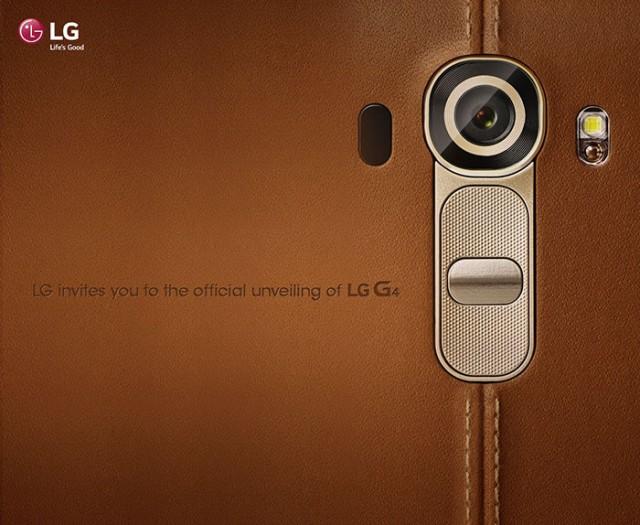 Lancement LG G4.