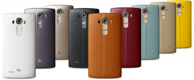 LG G4 : image officielle 3