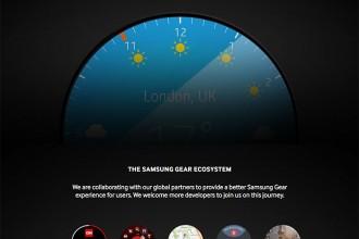 Montre ronde Samsung