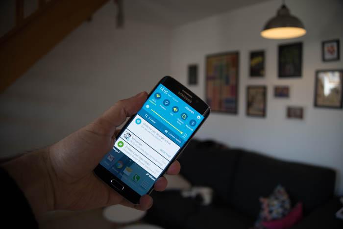 Puissance Galaxy S6 Edge : image 5