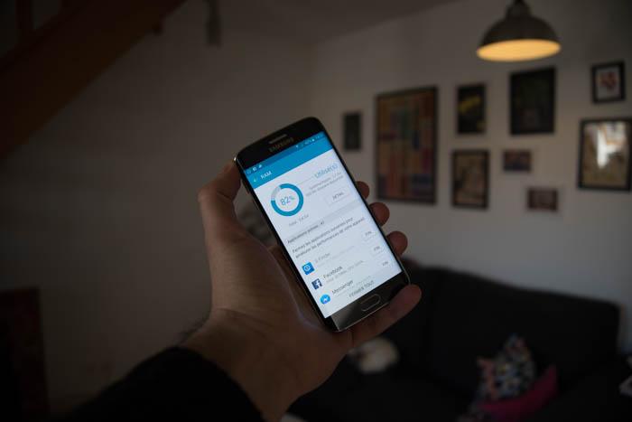 Puissance Galaxy S6 Edge : image 6
