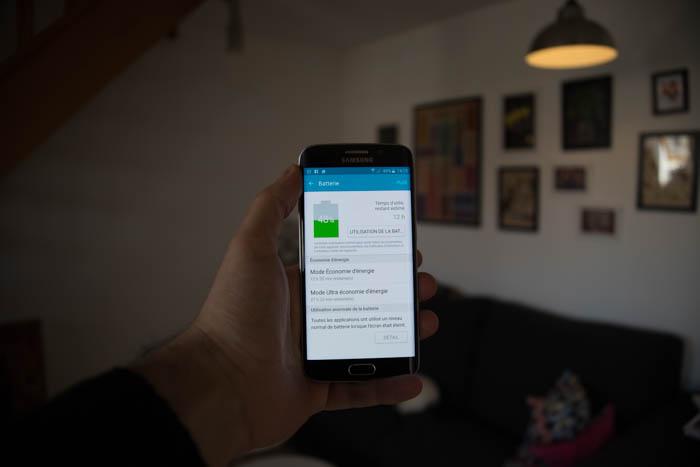 Autonomie Galaxy S6 Edge : image 1