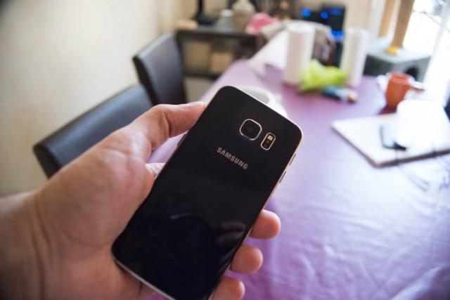 Capteur photo Galaxy S6 Edge : image 1