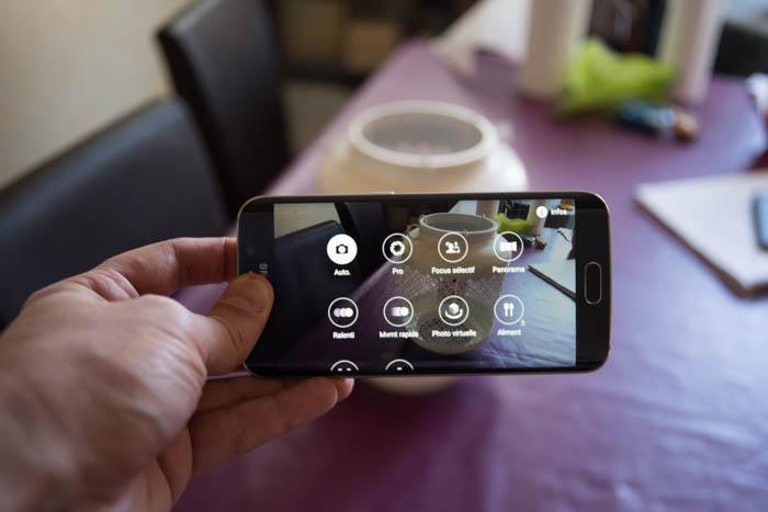 Capteur photo Galaxy S6 Edge : image 3