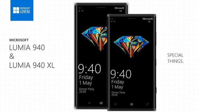 Lumia 940/940 XL : concept 1
