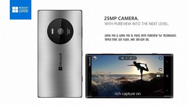 Lumia 940/940 XL : concept 2