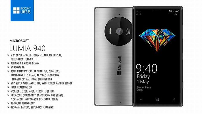 Lumia 940/940 XL : concept 3