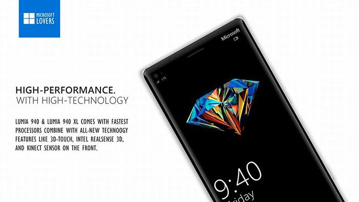 Lumia 940/940 XL : concept 4
