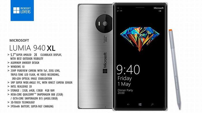 Lumia 940/940 XL : concept 5