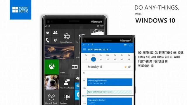 Lumia 940/940 XL : concept 6