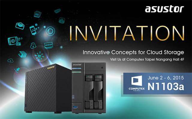 NAS Computex 2015 Asustor