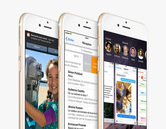 Nouveautés iOS 9