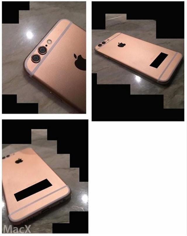 Photos iPhone 6s rose
