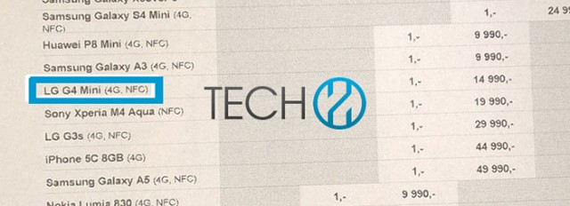 LG G4 Mini : image 2