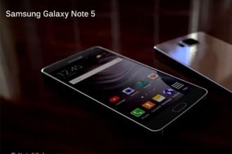 Sortie Galaxy Note 5