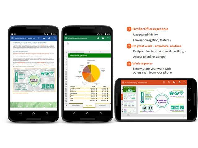 Office téléphones Android