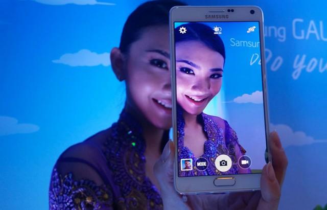 Parts de marché Samsung Chine