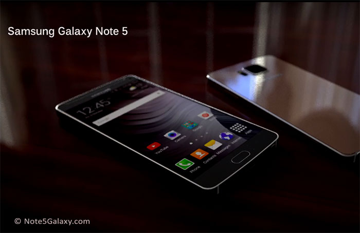 Concept Galaxy Note 5 : image 1