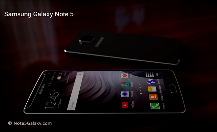 Concept Galaxy Note 5 : image 2