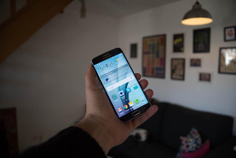 Samsung Galaxy S6 Edge : photo 7